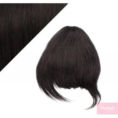 Clip in ofina 100% lidské vlasy - přírodní černá