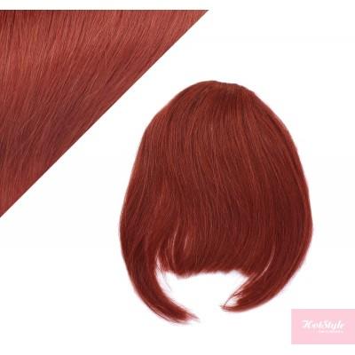 Clip in ofina 100% lidské vlasy - měděná
