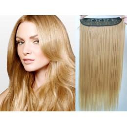 Clip vlasový pás remy 53cm rovný – přírodní blond