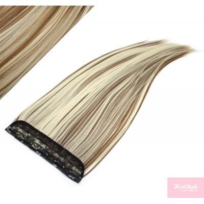 Clip rychlopás japonský kanekalon 63cm rovný – světlý melír