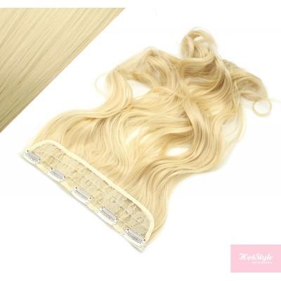 Clip rychlopás japonský kanekalon 63cm vlnitý – nejsvětlejší blond