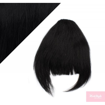 Clip in ofina 100% lidské vlasy - černá