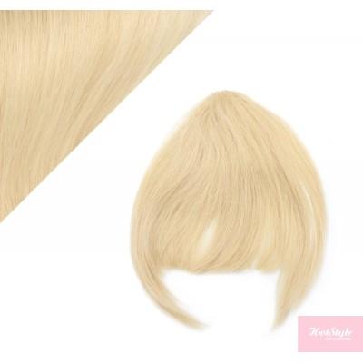 Clip in ofina 100% lidské vlasy - nejsvětlejší blond