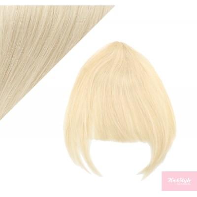 Clip in ofina 100% lidské vlasy - platina