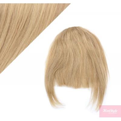 Clip in ofina 100% lidské vlasy - přírodní / světlejší blond