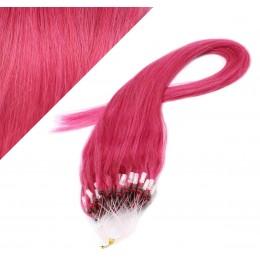 40cm micro ring / easy ring vlasy - růžová