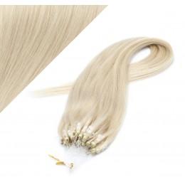 60cm micro ring / easy ring vlasy - platina
