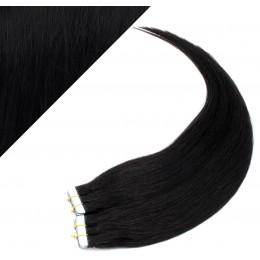 40cm Tape vlasy / Tape IN - černá
