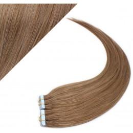 40cm Tape vlasy / Tape IN - světle hnědá