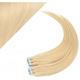 40cm Tape vlasy / Tape IN - nejsvětlejší blond