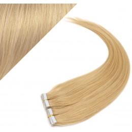 60cm Tape vlasy / Tape IN - přírodní blond