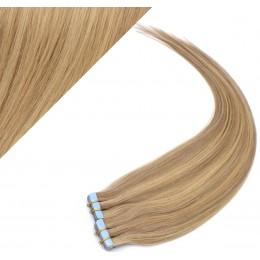 60cm Tape vlasy / Tape IN - přírodní / světlejší blond