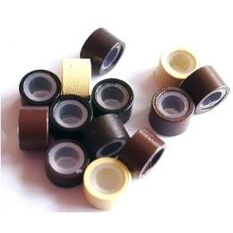 Micro ring kroužky se silikonem - 250ks