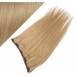 Clip vlasový pás remy 63cm rovný – přírodní blond