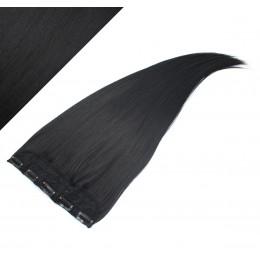 Clip rychlopás japonský kanekalon 63cm rovný – černá