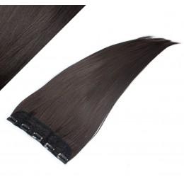 Clip rychlopás japonský kanekalon 63cm rovný – přírodní černá