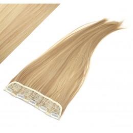 Clip rychlopás japonský kanekalon 63cm rovný – přírodní / světlejší blond