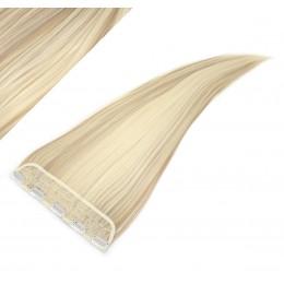 Clip rychlopás japonský kanekalon 63cm rovný – platina / světle hnědá