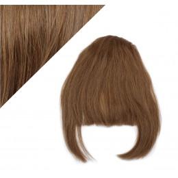 Clip in ofina 100% lidské vlasy - středně hnědá