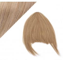 Clip in ofina 100% lidské vlasy - světle hnědá