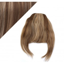 Clip in ofina 100% lidské vlasy - tmavý melír
