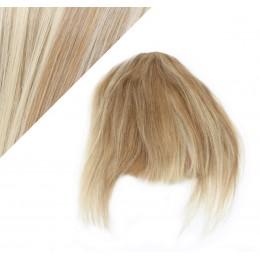 Clip in ofina 100% lidské vlasy - světlý melír