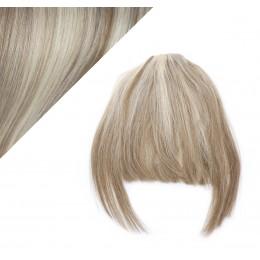 Clip in ofina 100% lidské vlasy - platina / světle hnědá