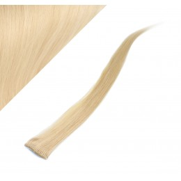 50cm clip in pramínek, 6ks - blond